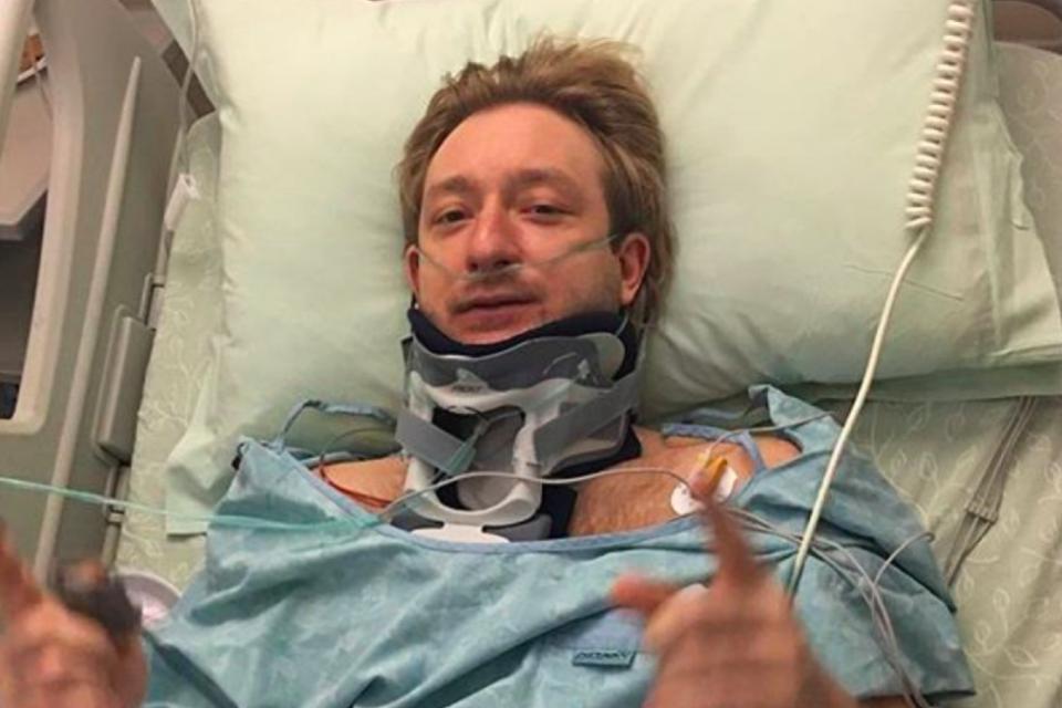 Прооперированный Евгений Плющенко устроил скандал в больнице. Рудковская в гневе
